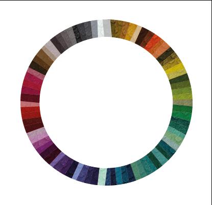 Nuancier tapis logo caoutchouc