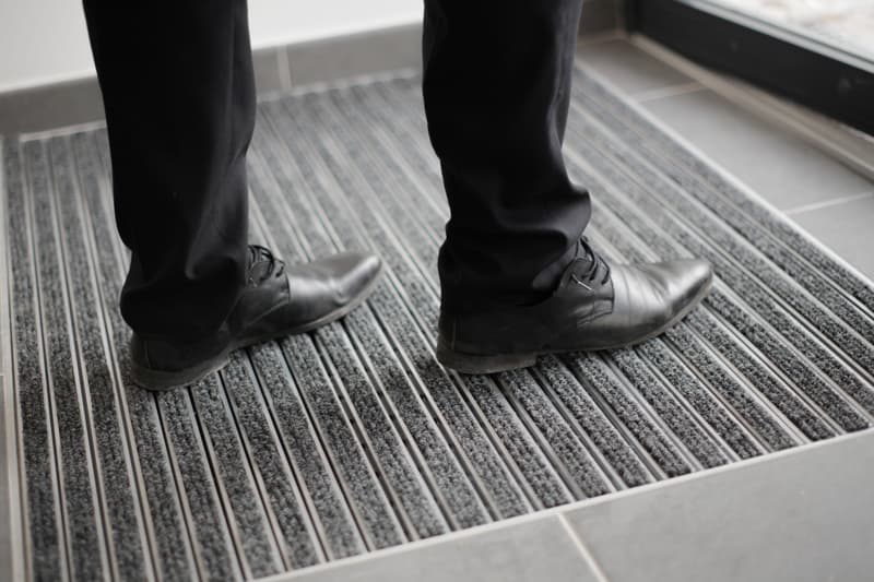 Chaussure tapis propre anthracite